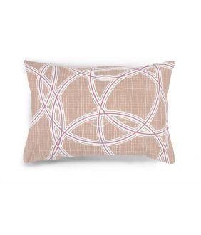 Flanelės pagalvės užvalkalas su užtrauktukais 40-1164-FRAPPE