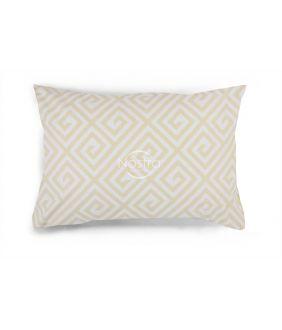 Flanelės pagalvės užvalkalas su užtrauktukais 30-0603-BEIGE