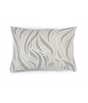 Flanelės pagalvės užvalkalas su užtrauktukais 30-0602-GREY