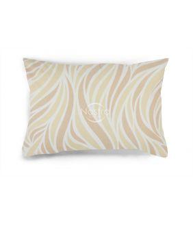 Flanelės pagalvės užvalkalas su užtrauktukais 30-0602-BEIGE