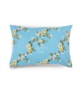 Flanelės pagalvės užvalkalas su užtrauktukais 20-1550-BLUE