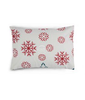 Flanelės pagalvės užvalkalas su užtrauktukais 10-0550-RED