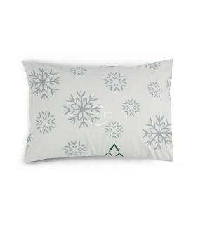 Flanelės pagalvės užvalkalas su užtrauktukais 10-0550-GREY