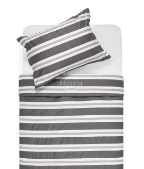 Sateen bedding set ADALINE 30-0546-GREY