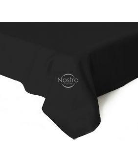 Flat sateen sheets 00-0055-BLACK