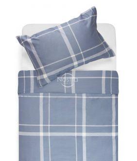 Sateen bedding set ADALWOLFA 30-0548-STONE BLUE