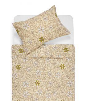Flannel bedding set BETHANY 20-1549-BEIGE