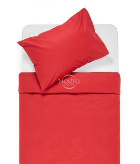Drobės patalynės komplektas DOTTY 00-0023-WINE RED