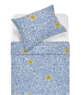 Фланелевое постельное бельё BETHANY 20-1549-BLUE