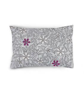 Flanelės pagalvės užvalkalas su užtrauktukais 20-1549-GREY