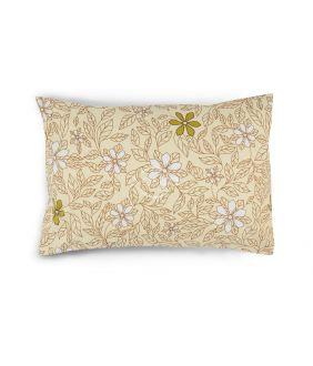 Flanelės pagalvės užvalkalas su užtrauktukais 20-1549-BEIGE
