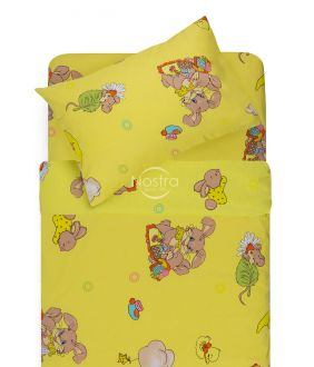Children bedding set GOOD NIGHT BUNNY 10-0417-YELLOW