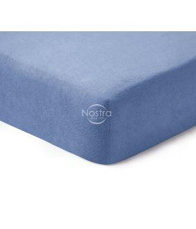 Frotinės paklodės su guma TERRYBTL-PALACE BLUE