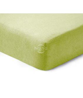Махровые простыни на резинке TERRYBTL-LEAF GREEN