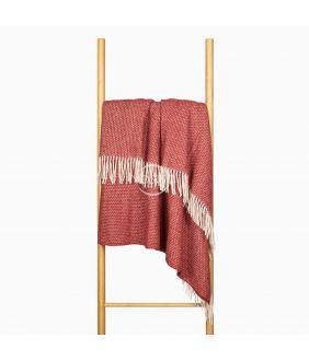 Woolen plaid MERINO-300 80-3253-TERRA