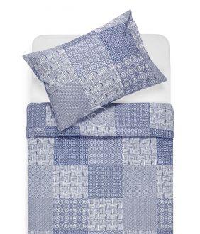 Cotton bedding set DORITA 30-0567-BLUE
