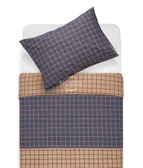 Cotton bedding set DONYA 30-0573-BLUE
