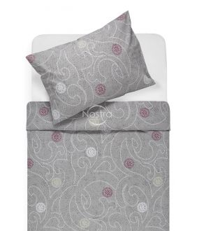 Cotton bedding set DONALDA 40-0980-GREY