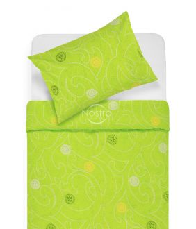Cotton bedding set DONALDA 40-0980-APLLE GREEN