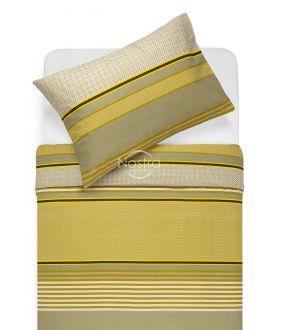 Cotton bedding set DORIANA 30-0568-MUSTARD
