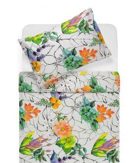 Cotton bedding set DIVA 20-1493-PEACH