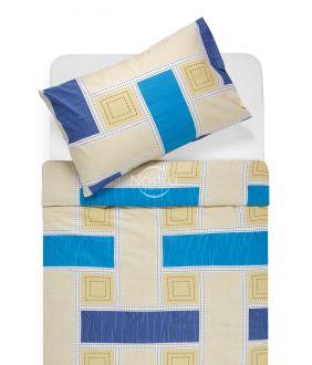 Cotton bedding set DIAMANDA 30-0575-BLUE