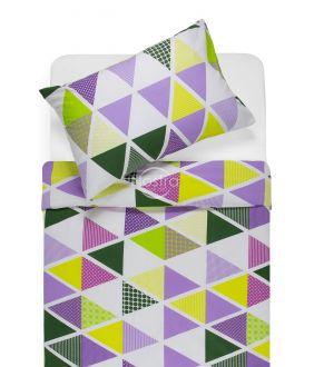 Cotton bedding set DEVRI 30-0615-VIOLET