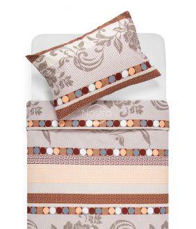 Cotton bedding set DONA 40-0896-BEIGE