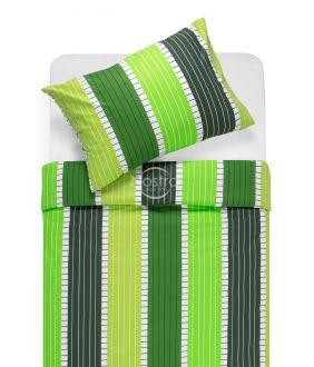 Cotton bedding set DORA 30-0572-GREEN