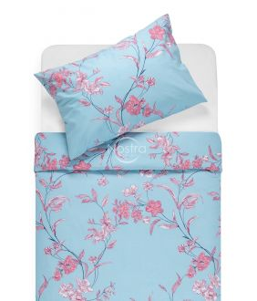 Cotton bedding set DUSTEE 20-0569-BLUE