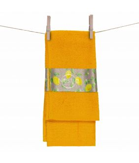 Kitchen towel 350GSM T0109-YELLOW M2