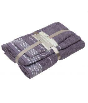 3 pieces towel set T0044 T0044-EXCALIBUR