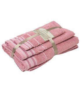 3 dalių rankšluosčių komplektas T0044 T0044-OLD ROSA