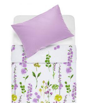 Cotton bedding set DIOR 20-1538/00-0033-LILAC/SOFT LILAC
