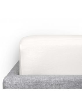 PREMIUM jersey sheets JERSEY LUX-200 JERSEY-OPT.WHITE