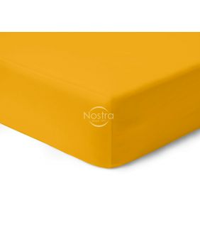 Fitted sateen sheets 00-0415-MUSTARD