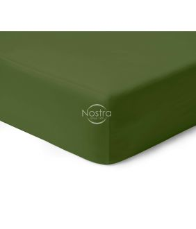 Satino paklodės su guma 00-0413-MOSS GREEN