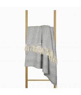 Woolen plaid MERINO-300 80-3256-GREY