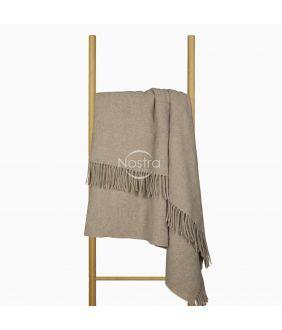 Woolen plaid MERINO-300 80-3257-LIGHT BROWN