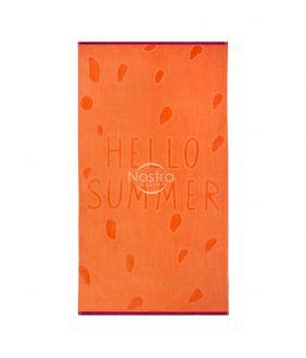 Beach towel 365J VELOUR T0131-ORANGE