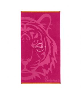 Beach towel 365J VELOUR T0127-FUCHSIA