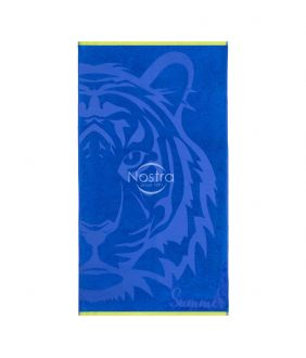 Beach towel 365J VELOUR T0127-BLUE