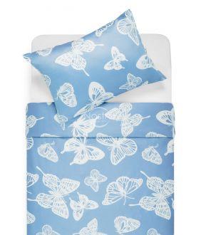 Sateen bedding set APRIL 40-1246-BLUE
