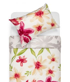 Sateen bedding set AMY 20-1611-RED