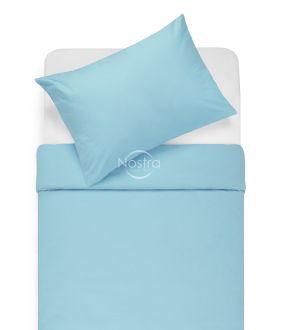 Cotton bedding set DOTTY 00-0051-L.BLUE