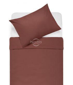 Cotton bedding set DOTTY 00-0237-MARSALA