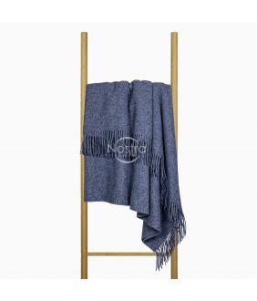 Woolen plaid MERINO-300 DOUBLE FACE-BLUE