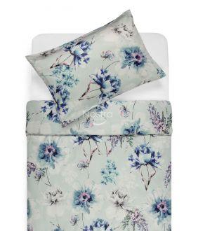Sateen bedding set ARLENE 20-0168-BLUE