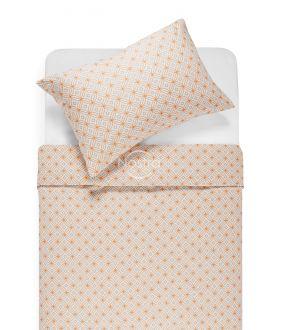 Flannel bedding set BRIELLE 40-1166-TERRACOTA